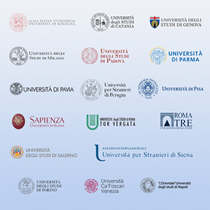 Le Università socie del Consorzio ICoN